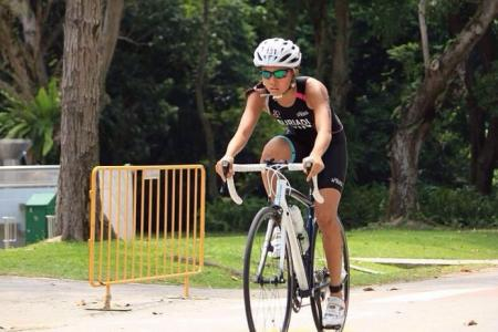 Six months after bad accident, she wins medals