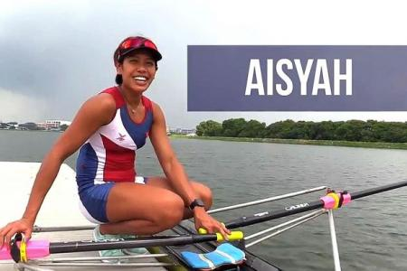 Rower Aisyah's arduous journey to Rio