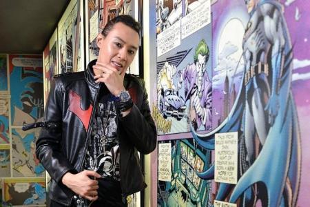 Local guitarist Alif Putra endorses DC Comics Super Heroes