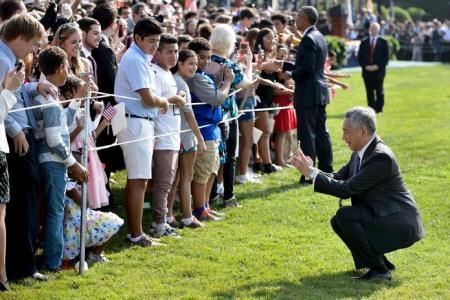 PM Lee, Obama hail solid ties