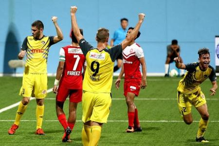 Balestier boosted by set-pieces