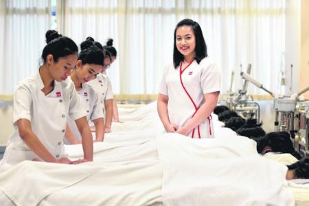 Once bullied, she now lectures on beauty therapy
