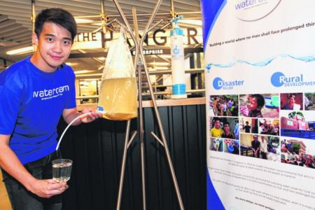 Engineer helps provide safe drinking water for poor