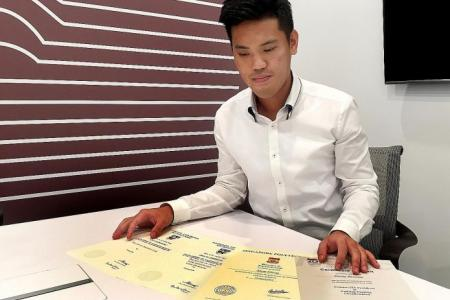 He goes from 105 for PSLE to become NUS Masters graduate