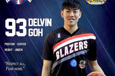 National cager Delvin Goh joins Brunei club