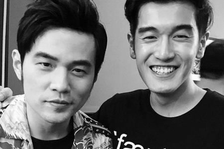 Nathan Hartono was terrified over lost voice