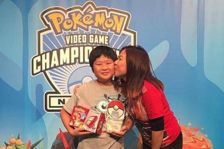 Singaporean boy makes Top 5 in Pokemon Championships