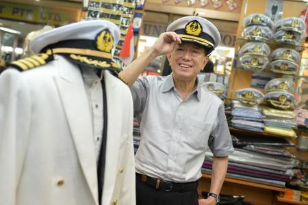 Captains take their hats off to him