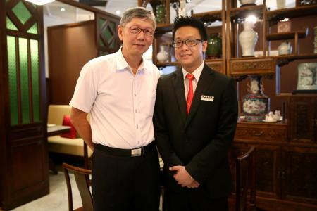 Ex-cop training to be restaurant manager