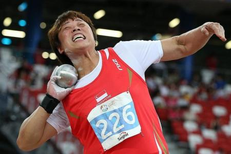Shot put queen Zhang meets qualifying mark for SEA Games