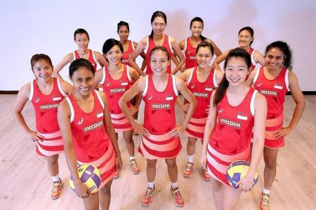 Singapore netballers aim for Nations Cup