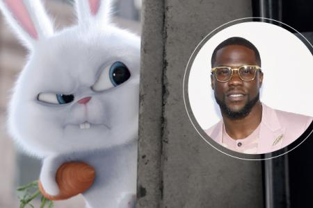 Kevin Hart: Being a bunny villain is fun
