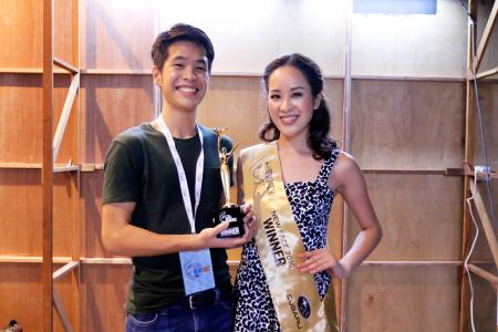 New Face 2016 winner calls brother her 'lucky charm'