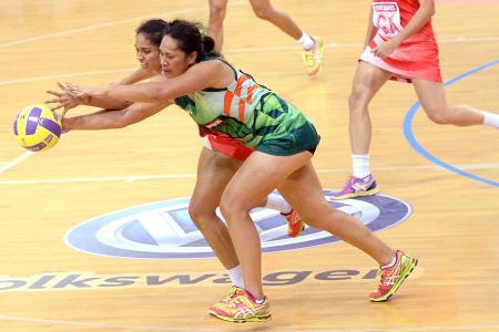 Slow start, furious finish for netballers