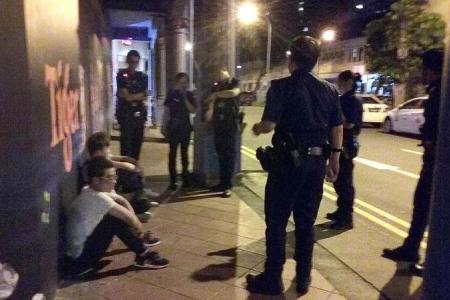 Five arrested for fighting at Jalan Besar