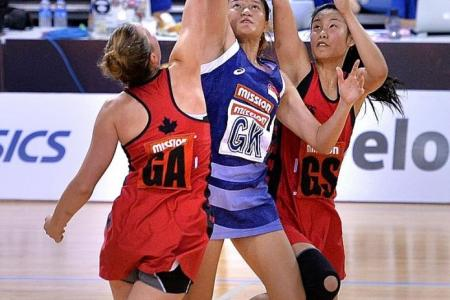 Netballers learn their lesson fast