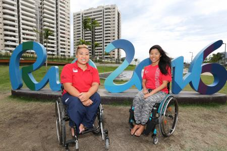 Singapore's 13 at the Paralympics