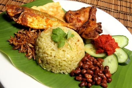 Hed Chef: How to make good nasi lemak