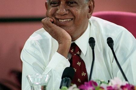 Minute of silence in Parliament for S R Nathan