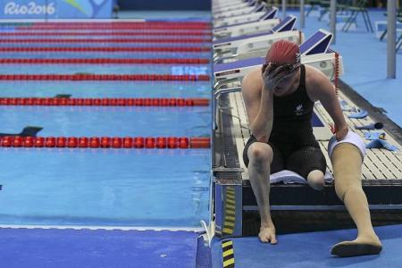 It's not all fun at the Paralympic Games