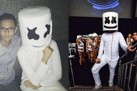 Will the real DJ Marshmello please stand up?