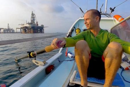 His 12,000km journey from Singapore to New Zealand
