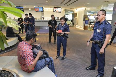 Terminal exposure at Changi Airport