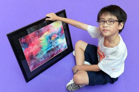 Art helps to calm these special-needs kids