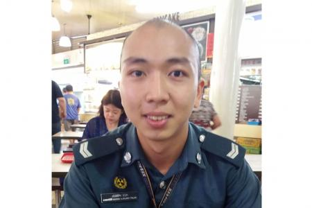 Certis Cisco officer saves man who choked on fishball