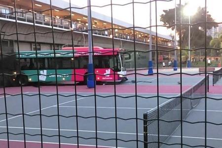 Bus double faults at Yio Chu Kang