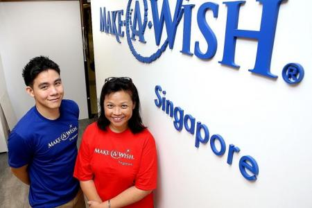 Granting wishes gives ill kids hope