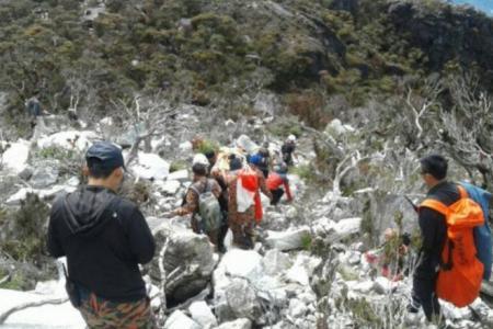 Singaporean climber falls and dies during Mt Kinabalu climb