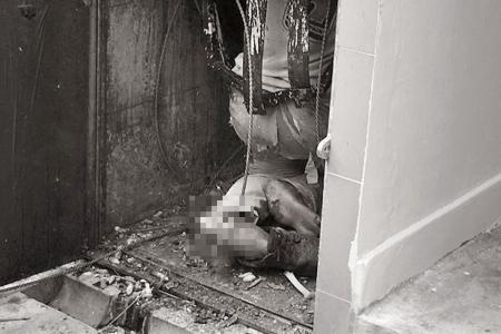 Man falls through rubbish chute in Bukit Merah