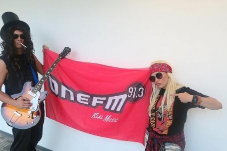 Guns N' Roses giveaway on One FM