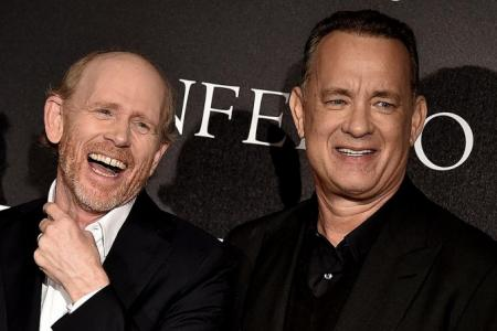 Tom Hanks: 'I don't want to disappoint Ron'