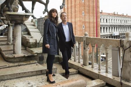 Inferno actors ooze Italian style in Ferragamo