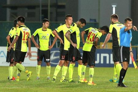 Pay-cut shock for Tampines players