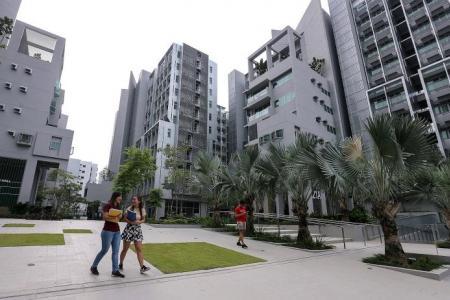 NTU's new condo-like hostels