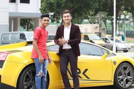 Lamborghini owner forgives teen who rode bike onto his car
