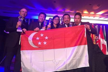 Singapore golfers are world amateur champions