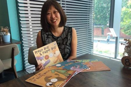 Success and self-publishing: Her bear books gave her a voice