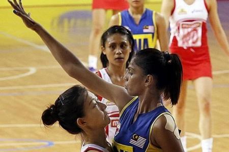 Advantage Malaysia for SEA Games netball