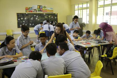 Teachers not quitting due to workload