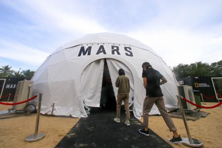 Five things to try at the Experience Mars showcase