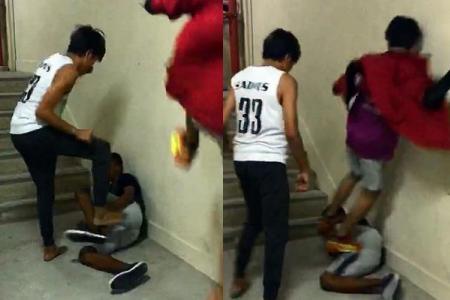 'Bullied' boy admits he belongs to a group