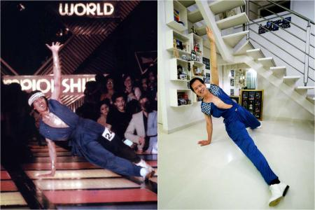 Singapore's disco king found! Video of him at World Championships seen by over 10 million
