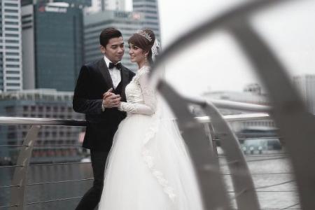 Their third wedding bashed