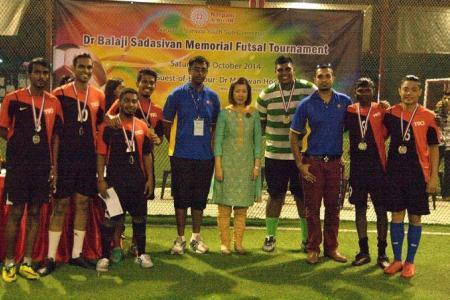 Women's football back in Futsal Fives