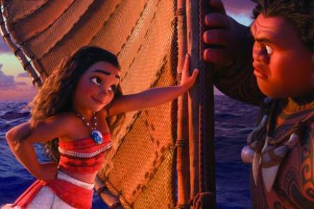 Moana a holiday hit in US cinemas