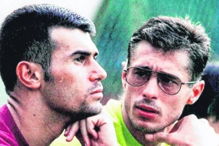 The footballer who ran... and ran